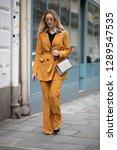 paris march 5  2018. street... | Shutterstock . vector #1289547535