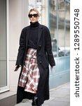 paris march 5  2018. street... | Shutterstock . vector #1289550748