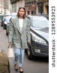 paris march 5  2018. street... | Shutterstock . vector #1289553925