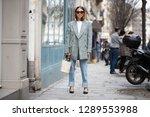 paris march 5  2018. street... | Shutterstock . vector #1289553988