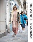 paris march 5  2018. street... | Shutterstock . vector #1289555608