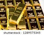 stack of gold bar bullions...   Shutterstock . vector #1289575345