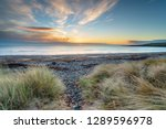 beautiful sunrise at new... | Shutterstock . vector #1289596978
