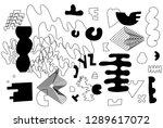 unique trendy artistic... | Shutterstock .eps vector #1289617072