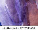 abstract watercolor painted... | Shutterstock . vector #1289635618