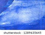 blue abstract grunge texture... | Shutterstock . vector #1289635645