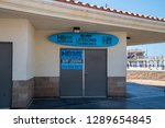 huntington beach  california  ... | Shutterstock . vector #1289654845