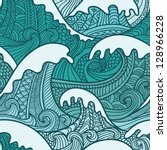 Sea Seamless Pattern
