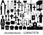 Set Of Religious Elements