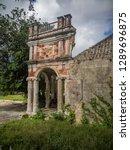 the old huses of scharloo ... | Shutterstock . vector #1289696875