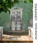 the old huses of scharloo ... | Shutterstock . vector #1289696902