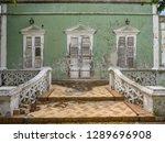 the old huses of scharloo ... | Shutterstock . vector #1289696908