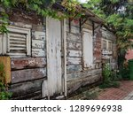 the old huses of scharloo ... | Shutterstock . vector #1289696938