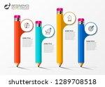 infographic design template....   Shutterstock .eps vector #1289708518