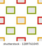 vector realistic colorful photo ...   Shutterstock .eps vector #1289761045