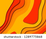 3d abstract background with... | Shutterstock . vector #1289775868