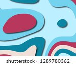 3d abstract background with... | Shutterstock . vector #1289780362