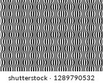 abstract seamless black and...   Shutterstock . vector #1289790532