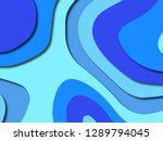 3d abstract background with... | Shutterstock . vector #1289794045