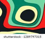 3d abstract background with... | Shutterstock . vector #1289797315