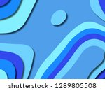3d abstract background with... | Shutterstock . vector #1289805508