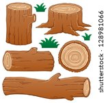 log theme collection 1   vector ...