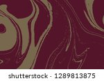 suminagashi the ancient art of...   Shutterstock .eps vector #1289813875