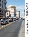 rome italy   september 06 2014  ...   Shutterstock . vector #1289836018