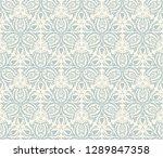 seamless background  eastern... | Shutterstock .eps vector #1289847358