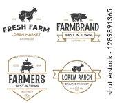 Farmers Market Logo Templates...