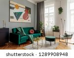 luxury and stylish  interior... | Shutterstock . vector #1289908948