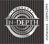 in depth silver badge | Shutterstock .eps vector #1289912995