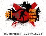 squad militarys.  slogan  ...   Shutterstock .eps vector #1289916295