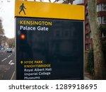 london  uk   november 03 2018 ... | Shutterstock . vector #1289918695