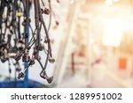 bunch of wiring harnesses.... | Shutterstock . vector #1289951002