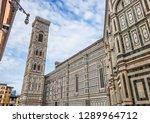 cathedral of santa maria del... | Shutterstock . vector #1289964712