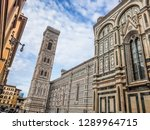 cathedral of santa maria del... | Shutterstock . vector #1289964715