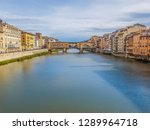 panoramic view of florence... | Shutterstock . vector #1289964718