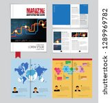 graphics brochures design... | Shutterstock .eps vector #1289969782