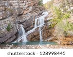 Cameron Falls in Waterton Townsite, Waterton National Park, Canada
