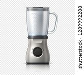 blender. empty juicer or food... | Shutterstock .eps vector #1289992288