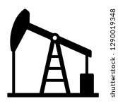 oil pump jack or petrol... | Shutterstock .eps vector #1290019348
