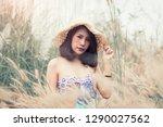 a portrait of a sexy asian...   Shutterstock . vector #1290027562