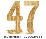 numeral 47  forty seven ... | Shutterstock . vector #1290029965