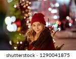 outdoor close up portrait of... | Shutterstock . vector #1290041875