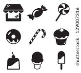 candy shop icons