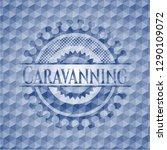 caravanning blue polygonal...   Shutterstock .eps vector #1290109072