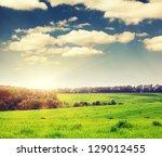 Majestic Landscape In The Fiel...