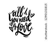 all you need is love...   Shutterstock .eps vector #1290131815