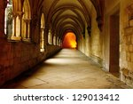 Alcobaca Monastery Cloister ...